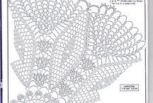 Wzory do wykonania / Wzory na szydełku, które kiedyś chciałabym wykonać
