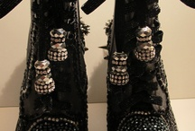 """Embellished Shoes by EpicJennM / """"every woman has a pair of ordinary boots …these are not them"""""""
