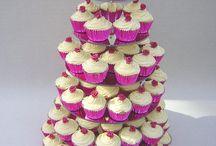 Bryllupskage (Cupcake)