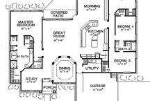 house lay outs / by Lacy Coker