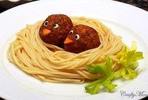 špagety / Netradiční servírování