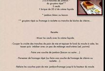 recettes / tutos