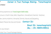 Careers Hotels Tour Travel Tickets / Tomar Hospitality- Get jobs in Hotels, Tour Travels, Holiday Packages, Tickets Reservation in Delhi. Visit Site for current jobs openings in different-different departments of Company.