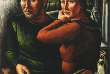 Quirijn van Tiel / Quirijn van Tiel (1900 - 1967), Nederlands aquarellist, graficus, pentekenaar, reclameontwerper, schilder, tekenaar.