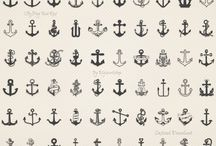Anchor, Small tatoos / becouse everybody needs inspiration for tatoos