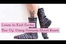 Sock knitting / knitting socks