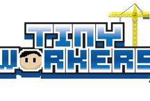 """Tiny Workers / Découvrez les images tirées du jeu mobile Randstad """"tiny Workers"""""""