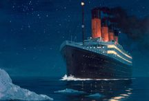 RMS Titanic / The sinking of the RMS Titanic occurred on the night of 14 April through to the morning of 15 April 1912 in the north Atlantic Ocean, four days into the ship's maiden voyage from Southampton to New York City. R.I.P