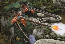 American secession war paintings and prints