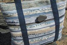 szövött táskák