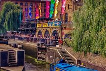 Camden Town / With its alternative vibe, Camden is abuzz with famous markets, live music venues and street performers. Away from the bustle, there's also a picture-pretty canal and some gorgeous green spaces to explore.