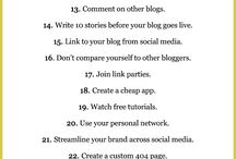 Blogging Tips