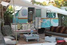 Miss Daisy's make-over / the make-over journey of the cutest little caravan