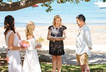 Watsons Bay Wedding Ceremony / Sunny Sydney harbourside ceremonies - January 2015.  Robertson Park is located between Watson Bay's historic Dunbar House & one of Sydney's many beautiful harbour beaches...