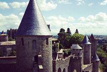 Carcassonne / Notre ville de Carcassonne avec sa cemèbre cité médiévale au coeur du pays Cathare dans le département de l'Aude.
