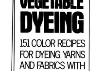 Natural dyestuffs & dyeing