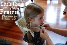 Lydia's Little House on the Prairie Party / For my daughter's 6th birthday, she wanted to go back in time to covered wagons. It was one of the cutest & most fun parties we've ever had!