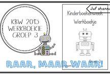 School - Kinderboekenweek / Leuke activiteiten voor in de KBW