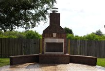 Fire Pits & Fireplaces / Relax with a Custom Fire Pit or Fireplace in your back yard