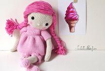 Muñeca a crochet / Muñecas hechas a crochet
