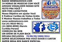 JUARES / RADIO WEBMAISVOCE.COM www.webmaisvoce.com Cel (41 9610-9611) (41 8850-8990) Marvin Curitiba Paraná