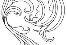 wzory azurowe