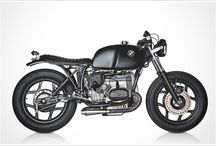 BMW Motorcycle / Old school BMW motorcycle