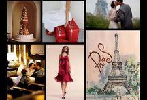Paris theme wedding