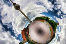 TinyPlanet / Famous places in the small planets.