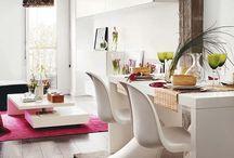 Dining rooms / Comedores / Gorgeous formal and casual dining rooms, and the occasional breakfast nooks. / Decoración de hermosos comedores y antecomedores para inspirarse y tomar ideas para tus propios espacios.