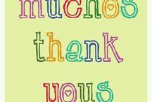 Gracias phrases