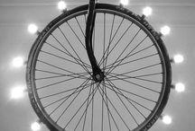 candelabru roata bicicleta