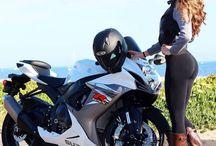 Filles moto