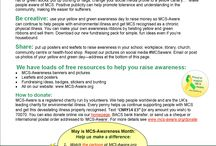 MCS-Awareness month / Promoting MCS-Awareness in May