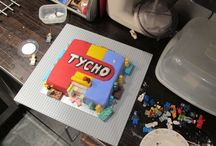 Lego birthday cake / This is my son's 8th birthday cake. Yes, I think his mum is amazing.