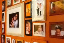 ~ photo & wall art installation ~ / Creative ways of displaying photographs and wall art in your home.