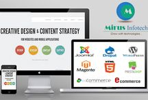 Website Design and Development Company / Mirus Infotech is a leading Web design and development company located at Mohali, India. Get a complete solution for business by telling us your requirements.