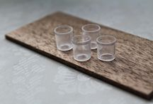 tutorials: dining (glasses & goblets) / Tutorials for miniature glasses, goblets, and pitchers