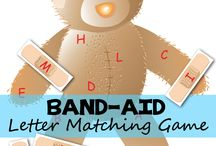 Band aid letter match
