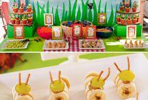 barnas festmat + litt for de voksne / godsaker