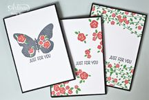 Stampin up floral wings