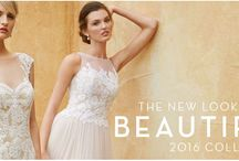 2016 Beautiful Collection / Introducing the all-new 2016 Beautiful by Enzoani collection. Refreshingly redefined, the 2016 collection boasts the enduring elegance of the Enzoani brand in an affordable package that maintains the highest in product quality. Sweet, stylish, and lovely as ever, the 2016 Beautiful collection takes 'romance' to a whole new level. / by Enzoani