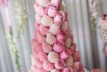 Свадебные торты и десерты
