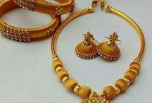 Silk thread jewelleries