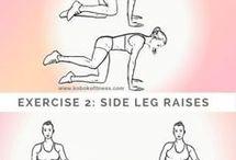 picioarele pulbere exerciții