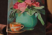 Картины, холст, масло / Картина маслом на холсте, автор Елена П.