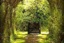 Poorten+wereld achter de poort