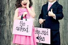 Flower Girls + Ring Bearers / The cutest children you'll ever see at a wedding!