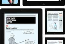 iPad Magazine Layout
