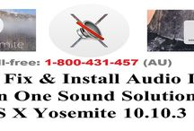 Contact 1-800431457 to Fix Mac Sound Not Working Problem